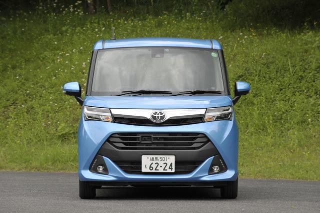 """画像: トヨタ タンクの中にも、外観をよりスポーティな仕様にした""""カスタム""""を設定。試乗車は標準仕様。"""