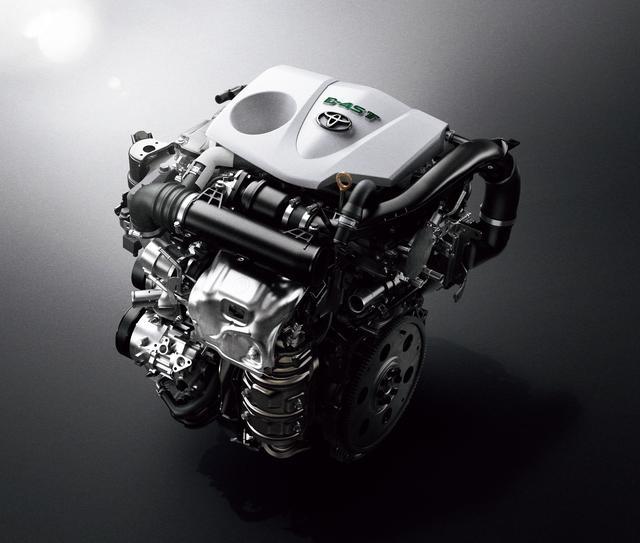 画像: 最高出力231psを発生する2L直噴ターボエンジン(8AR-FTS型)。