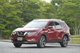 画像: ガソリン車の 20X( 3列シート)。外装色は新色のガーネットレッド。