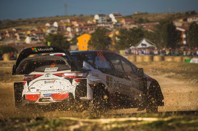画像: 【WRC】トヨタのラトバラが2位表彰台をゲット!