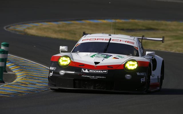 画像: 新型ポルシェ 911 RSR。GTE-Proクラスでの活躍が期待される。