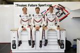 画像: 新型ポルシェ 911 RSRを操るドライバーたち。