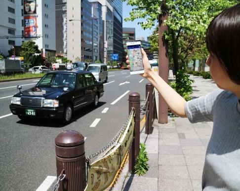 画像: スマホを振るとタクシーが集まる!「フルクル」11月提供開始【ニュース】 - Webモーターマガジン