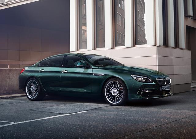 画像: BMWアルピナ B6 ビターボ グランクーペ オールラッド。なお、ビターボとはツインターボのことだ。
