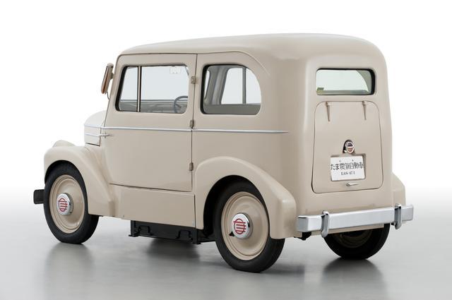 画像: 「たま電気自動車」はその高性能ぶりが評判となり当時一番売れた電気自動車となった。生産終了は1950年。