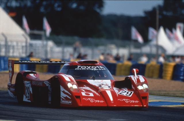 画像: トヨタ TS020(1998年)