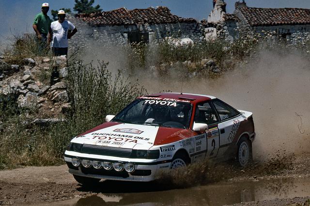 画像: ST165 セリカ GT-Four(1988年) Photo:ワールド・ラリー・プレス