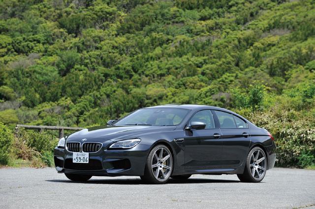 画像: BMW M6 グランクーペ。Mモデルらしい迫力あるスタイルに広い居住空間も確保した。