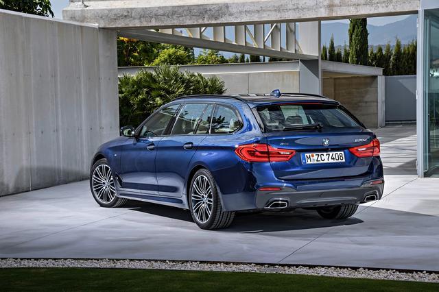 画像: BMW 5シリーズ ツーリング。写真は欧州仕様。