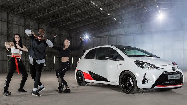 画像: Toyota Yaris GRMN: The Dance – Behind The Scenes youtu.be