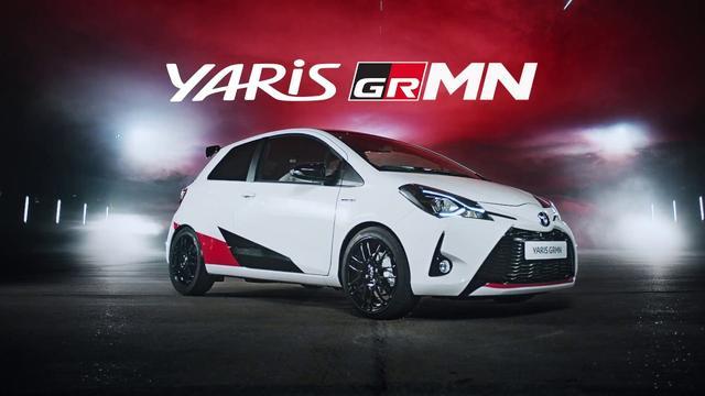 画像: Toyota Yaris GRMN: The Dance youtu.be