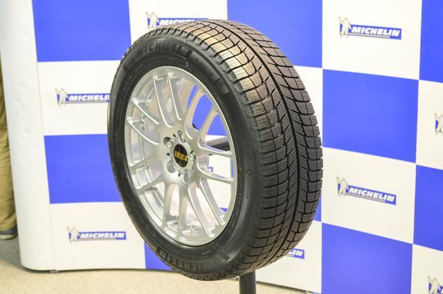 画像: 【タイヤ】ミシュランのスタッドレスタイヤ、X-ICE 3+は凍結路面での性能強化【新製品】 - Webモーターマガジン