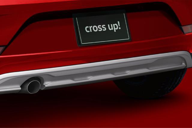 画像2: クロスアップ!のSUVテイストを強調