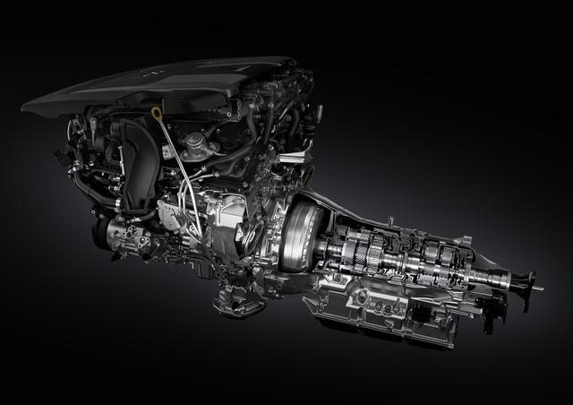 画像: 2017年秋に登場予定の新型レクサスLS500には、「Direct-Shift 10AT」と呼ばれる10速ATが搭載される。
