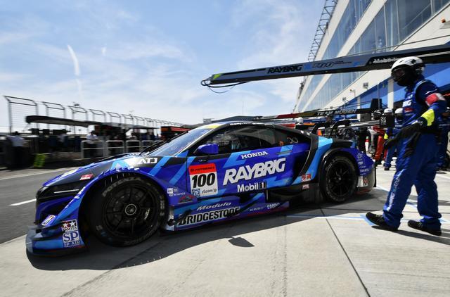 画像: 練習走行からトップタイムの100号車NSX-GTが、Q1Q2最速で完璧なポール