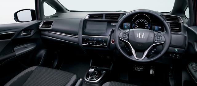 画像: フィット HYBRID・S Honda SENSING(ブラック×グレーライン)