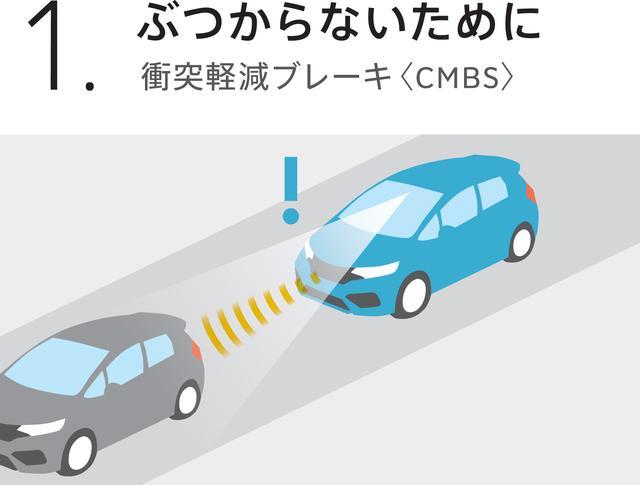 画像2: フィットをマイナーチェンジ! ~デザインを一新し、Honda SENSING を採用~