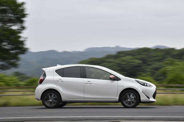 画像: 直進安定性も良い。実燃費も従来型より向上しているようだ。