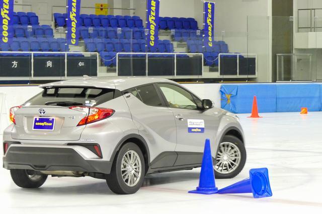 画像3: 【スタッドレスタイヤ】グッドイヤーのアイスナビ7は氷上コーナリング性能が向上【新製品】
