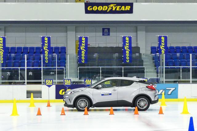 画像2: 【スタッドレスタイヤ】グッドイヤーのアイスナビ7は氷上コーナリング性能が向上【新製品】