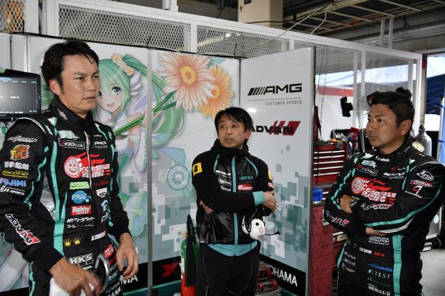 画像: Q1で片岡龍也が最速ながら、谷口信輝がアタックしたQ2では2番手タイム