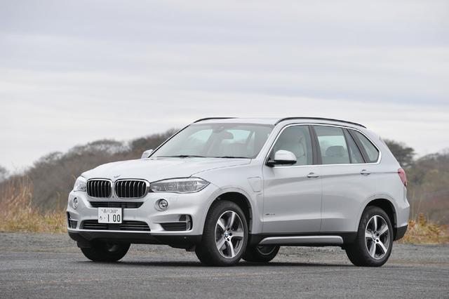 画像: BMW X5 xDrive 40e iパフォーマンス。堂々としたスタイルを持つSUVの先駆者。