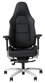 画像: 「オフィスチェアー」。高さ調整は手動。バックレスト角度調整は電動だ。