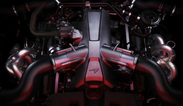 画像: 「M838T」3.8L V8ツインターボエンジンから、新たに「M840T」4L V8ツインターボエンジンに進化。最高出力は720psを発生。