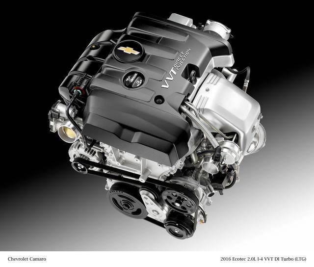 画像: 2L直4ターボエンジン。