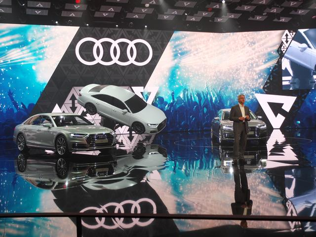 画像: 【ニュース】自動運転レベル3を開発した新型アウディA8を世界初公開