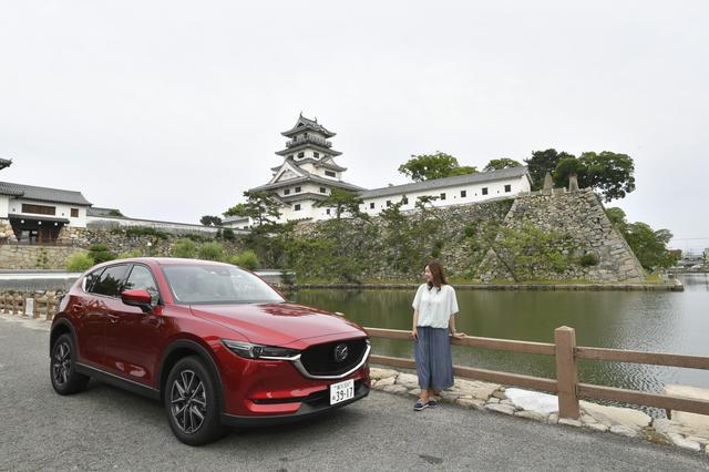 画像: しまなみ海道を渡りきって、今治城に到着。まったく疲れ知らずのツーリングだった。