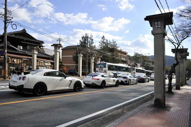 画像: 普段はなにも考えずに道路の左側を運転しているが・・・。