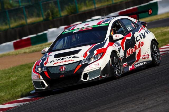 画像: 今シーズンのスーパー耐久を戦うModulo CIVIC TCR。マシンの製作はJASモータースポーツだ。