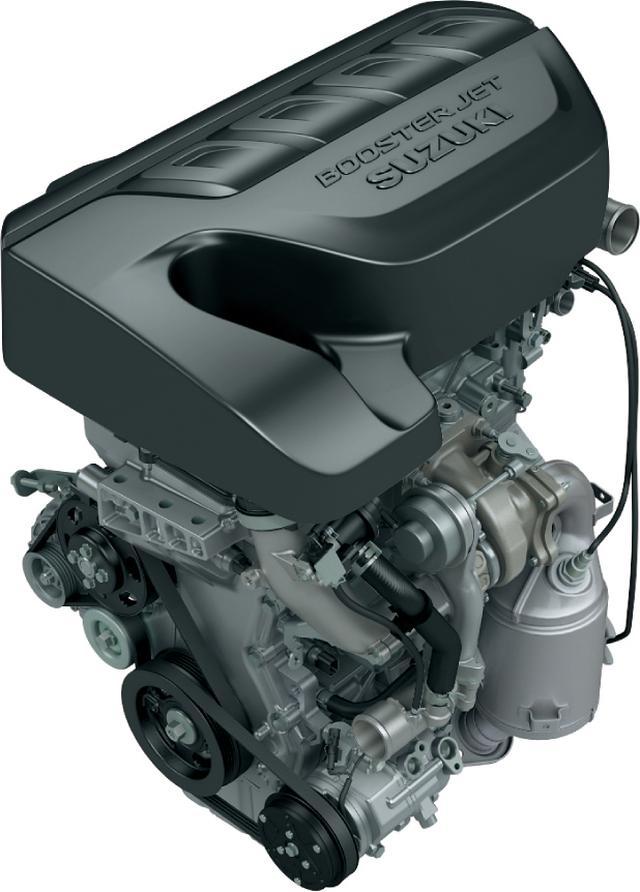 画像: K14C型ブースタージェットエンジン。
