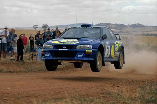 画像: 1998年式 スバル・インプレッサ 555 WRC98。1998年の世界ラリー選手権 第4戦「ラリー・ド・ポルトガル」、第6戦「ツール・ド・コルス」、第8戦「アクロポリス・ラリー」優勝車。