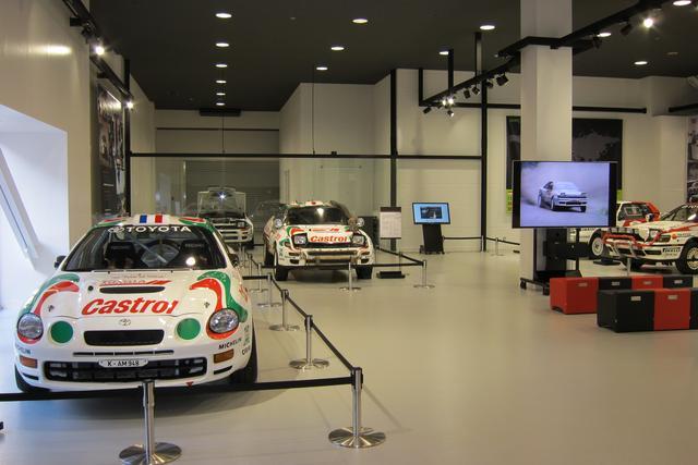 画像: WRCで活躍したラリー車などを展示している「モータースポーツヘリテージ」。