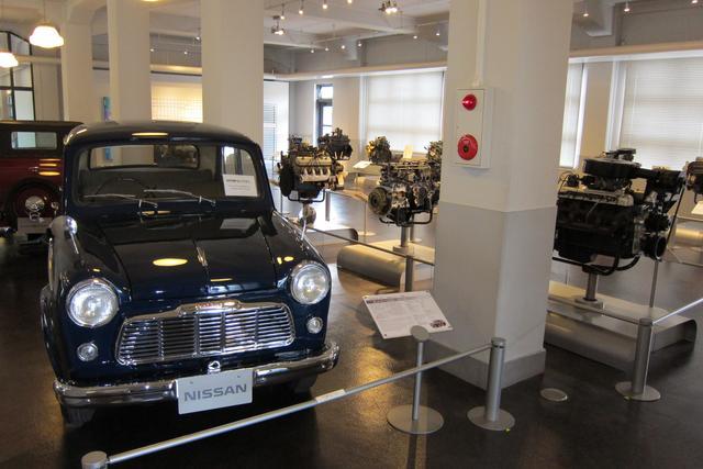 画像: 展示されているエンジンを搭載していた実際の車両も、台数は少ないが展示されている。