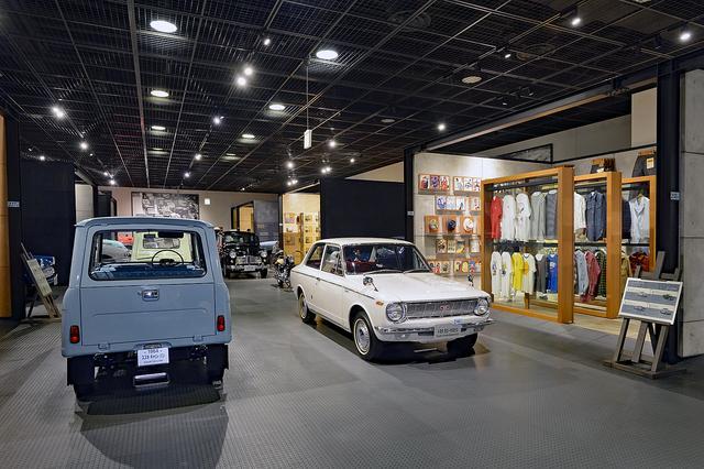 画像: 展示コースを巡れば,自動車誕生の黎明期から現在までの進化の足跡をたどることができるようになっている。