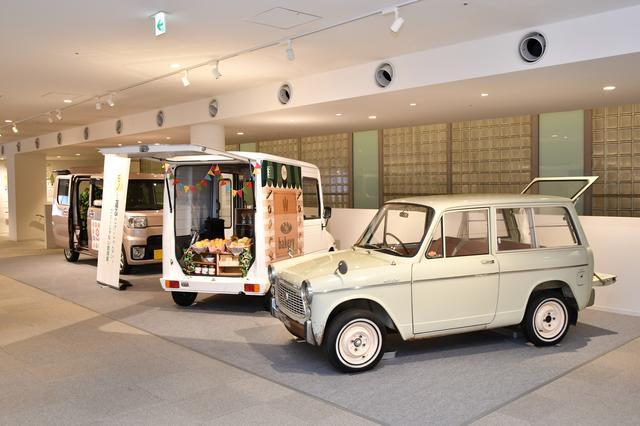 画像: 懐かしの名車から現代の軽自動車まで、企画展なども開催されている。