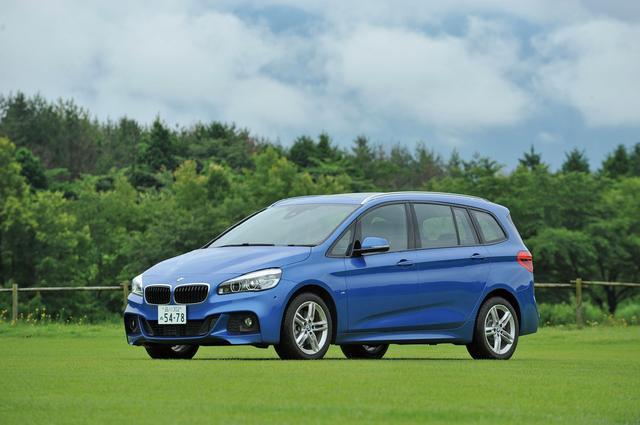 画像: BMW 218d グランツアラー Mスポーツ。アクティブツアラーよりホイールベースが110mm長い。