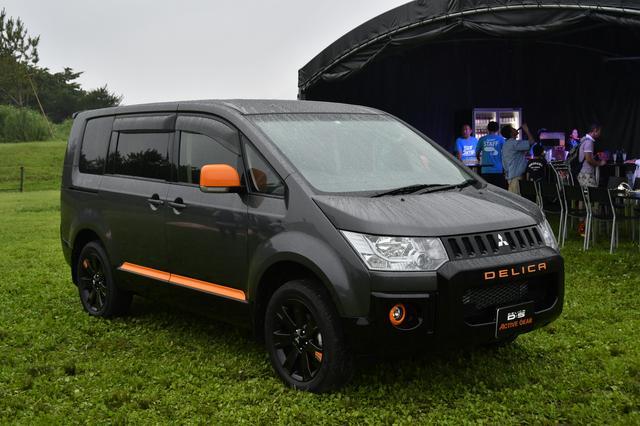 画像: 4月に発売され好評のデリカD:5特別仕様車「ACTIVE GEAR」。