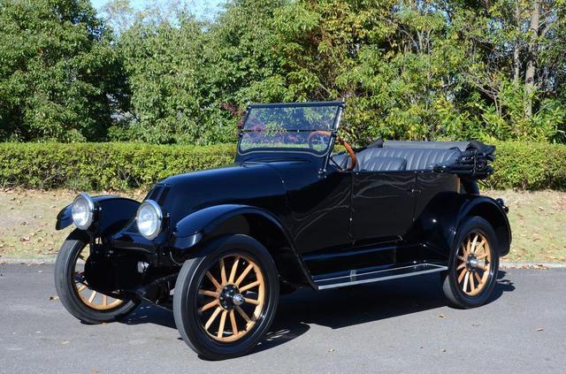 画像: 「フランクリン シリーズ9」1917年製。軽量化と乗り心地をとことん追求した当時としてはかなり先進的なクルマ。