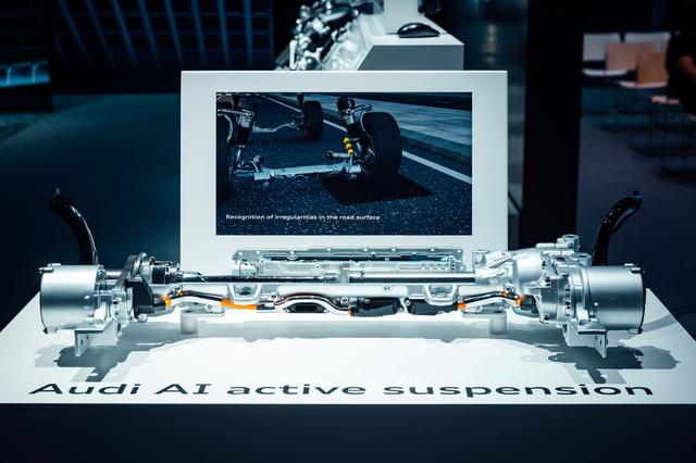 画像: AIアクティブサスペンション:「交差点アシスト」と連携して、25km/h以上の速度で側面から衝突されたときには、サスペンションのアクチュエーターの働きにより衝突される側のボディがわずか0.5秒で最大80mm持ち上がるようになる。