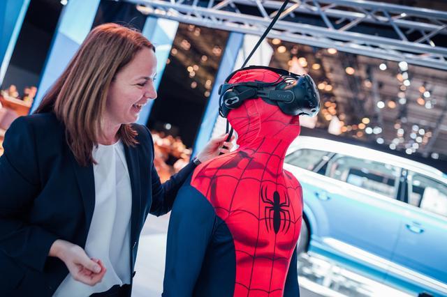 画像: スパイダーマンもワークショップに参加した…ようだ。