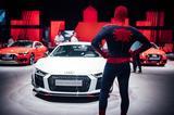 画像: 映画スパイダーマンではTTやA8といったアウディ車が活躍する。