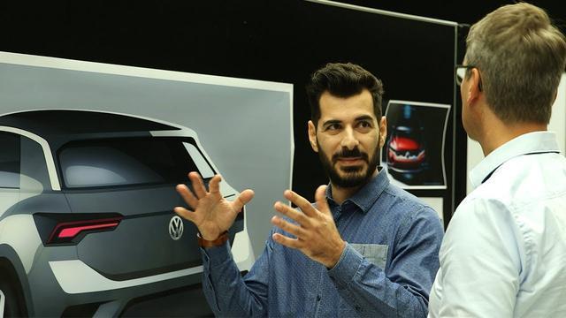 画像: The new Volkswagen T-Roc: The Design www.youtube.com