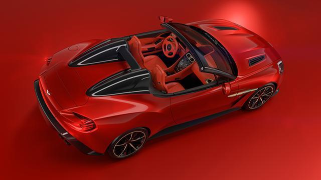 画像: ヴァンキッシュ ザガートの4モデルは、ヴァンキッシュSがベースとなっており、600psのV12自然吸気エンジンを搭載する。