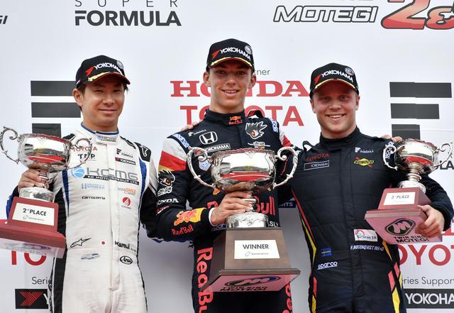 画像6: Red Bullの若きエース P.ガスリーがついに日本初勝利! 【スーパーフォーミュラ Rd04】in ツインリンクもてぎ