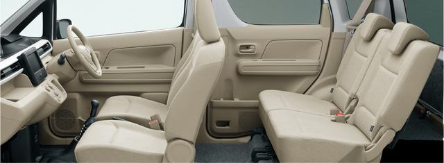 画像: フロアシフトになるため、フロントシートはベンチタイプではなくセパレートタイプとなる。