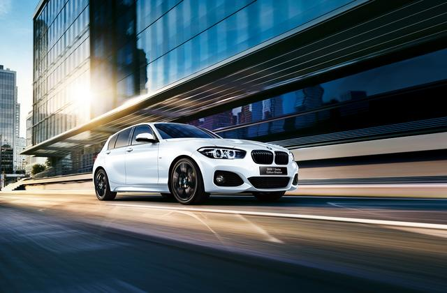 画像: BMW 118i M Sport Edition Shadow。マイナーチェンジと同時に発売された限定車。